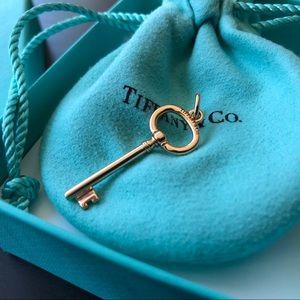 Tiffany & Co. Rose Gold Key
